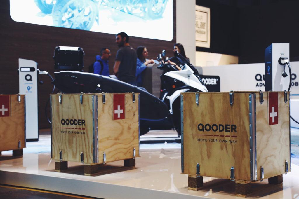 Balena special design for Qooder - GIMS